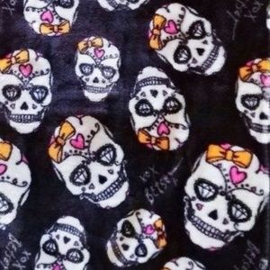Betsey Johnson Halloween Throw Blanket